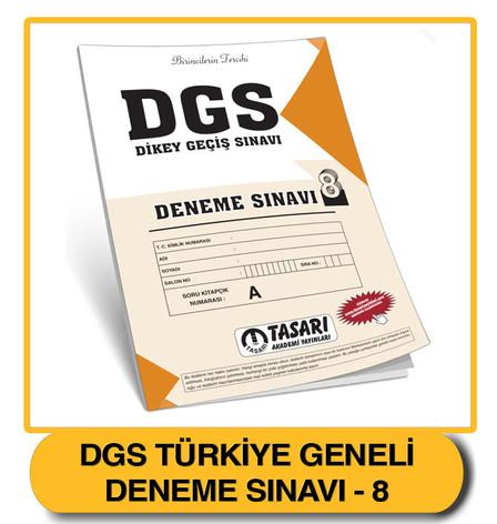 DGS Deneme 8 Çözümleri