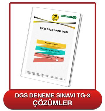 TG DGS Deneme Sınavı-3