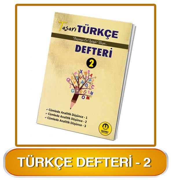 Türkçe Defteri-2