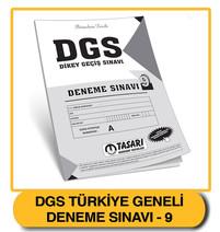 DGS Deneme 9 Çözümleri