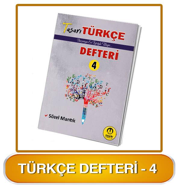 Türkçe Defteri-4