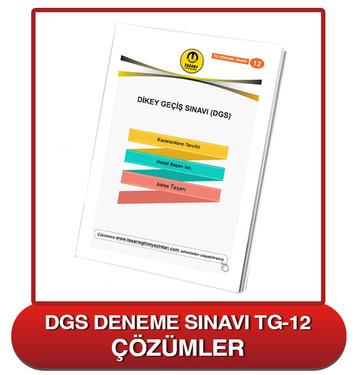 TG DGS Deneme Sınavı-12