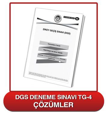 TG DGS Deneme Sınavı-4