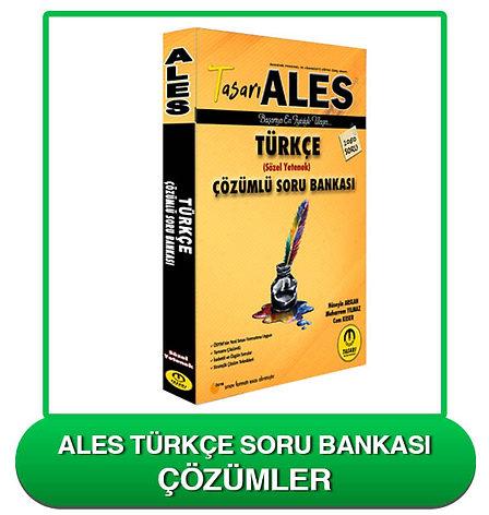 ALES Türkçe Soru Bankası Çözümleri