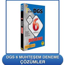 DGS 6 Muhteşeme Deneme Çözümler