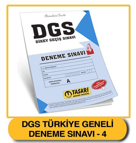 DGS Deneme 4 Çözümleri