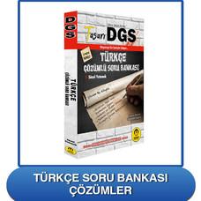 DGS Türkçe Soru Bankası Çözümleri