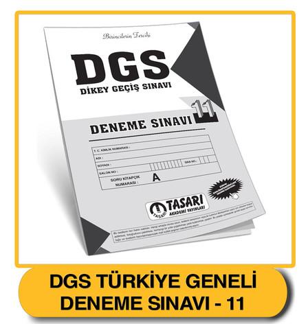 DGS Deneme 11 Çözümleri