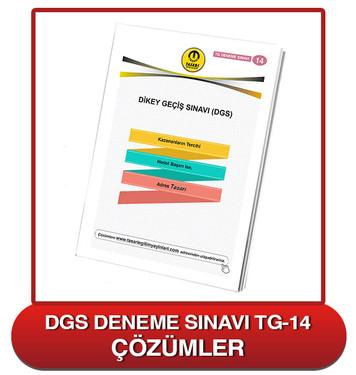 TG DGS Deneme Sınavı-14