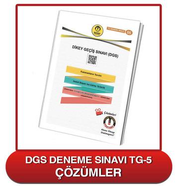 TG DGS Deneme Sınavı-5