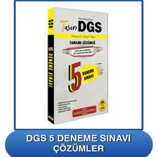 DGS 5 Deneme Sınavı Çözümler