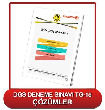 TG DGS Deneme Sınavı-15