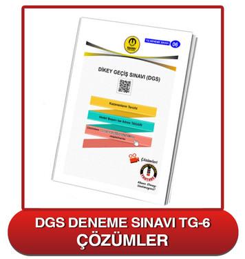 TG DGS Deneme Sınavı-6