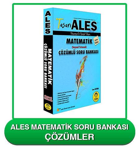 ALES Matematik Soru Bankası Çözümleri