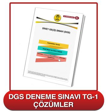 TG DGS Deneme Sınavı-1