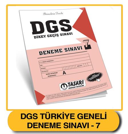 DGS Deneme 7 Çözümleri