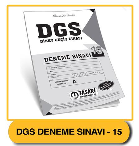DGS Deneme 15 Çözümleri