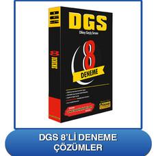DGS 8'li Deneme Çözümleri