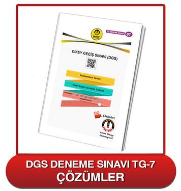 TG DGS Deneme Sınavı-7