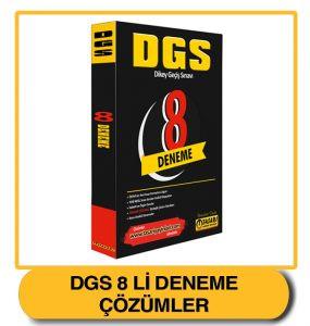 DGS 8'li Deneme Sınav Çözümleri