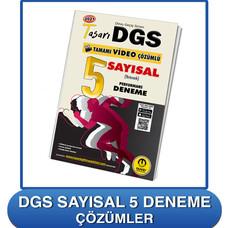 DGS Sayısal 5 Deneme Çözümleri
