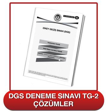 TG DGS Deneme Sınavı-2