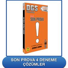 DGS Son Prova Çözümleri