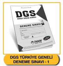 DGS Deneme 1 Çözümleri