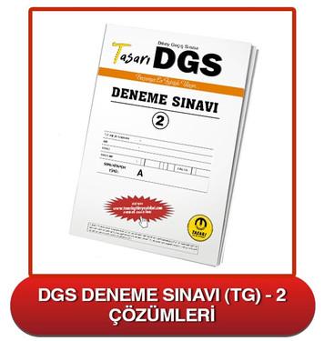 DGS Deneme Sınavı Çözümleri-TG2