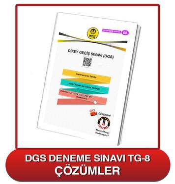 TG DGS Deneme Sınavı-8