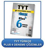 TYT 6 LI Deneme Türkçe Plus 6