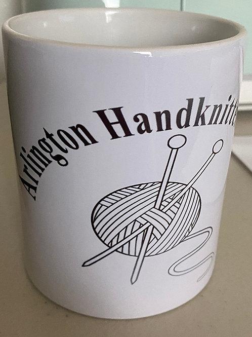 Arlington Knitting Club Logo Mug