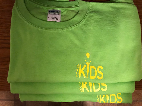 Lime T-shirt with Yellow Logo
