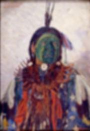 elbridge ayer burbank,indian painters
