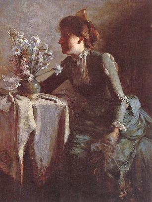 Alice Kellogg Tyler: Portrait of Miss G. E. K.