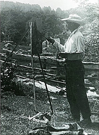wilson henry irvine,palette and chisel club,old lyme
