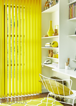 Acacia Canary Vertical Window Blinds