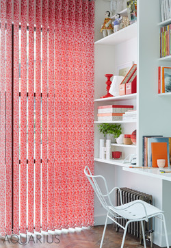 Fall Red Vertical Blinds