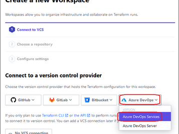 How to connect Terraform Cloud with Azure DevOps Services