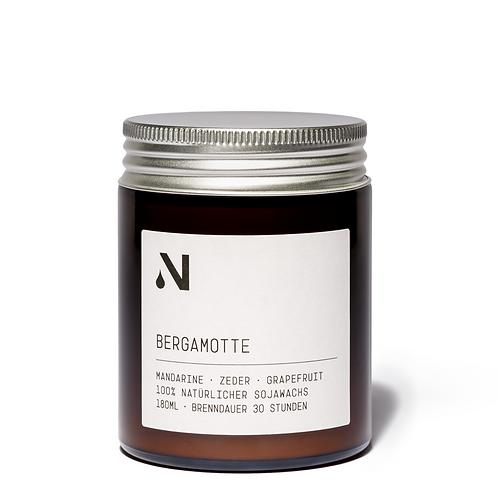 NATURTALENT Kerze Bergamotte 180ml