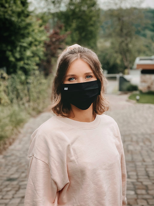 Gesichtsmaske WOOF Schwarz