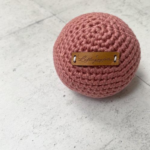 Lieblingspfote Gehäkelter Ball Powder Rose