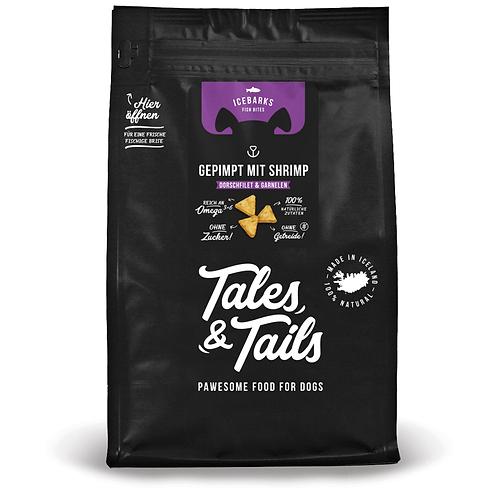 Tales & Tailes ICEBARKS – GEPIMPT MIT SHRIMP!