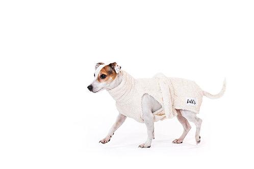 "Lill´s Hundebademantel aus Bio-Baumwolle ""Cotton"""