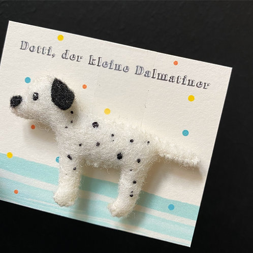 "Regenpanda Anstecker ""Dalmatiner Dotti"""