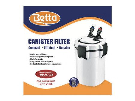 Betta external canister filter 1050