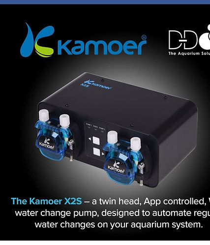Kamoer x2s automatic water changer.