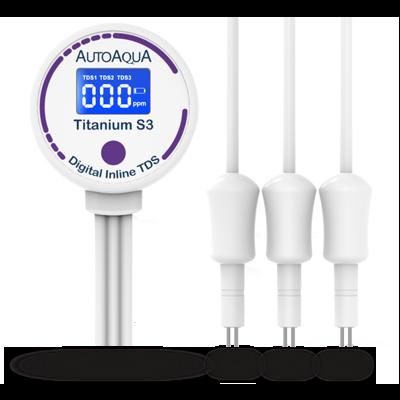 AutoAqua Titanium S3 TDS Meter