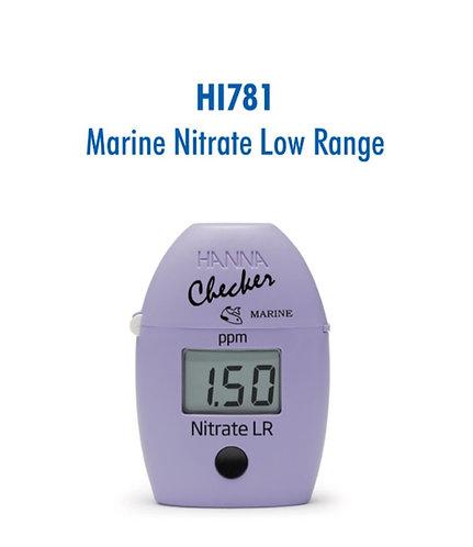 Hanna Nitrate chlorometer.