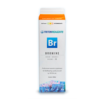 Bromine Macro Element Seawater Supplement